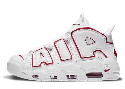Nike Air More Uptempo White Varsity Red Outline GSの写真