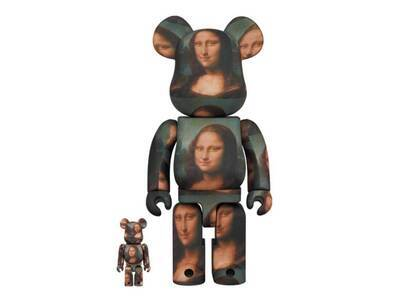Be@rbrick Leonard De Vinci Mona Lisa 100% & 400%の写真