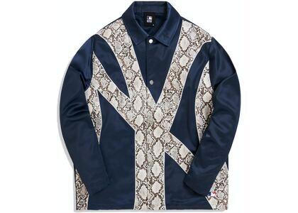 Kith For Major League Baseball New York Yankees Coaches Jacket Navyの写真