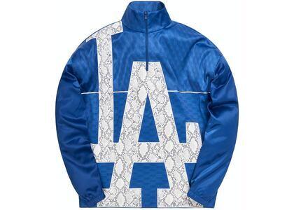 Kith For Major League Baseball Los Angeles Dodgers Quarter Zip Royal Blueの写真