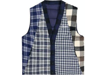 Kith Charlton Reversible Quilted Vest Blue/Multiの写真