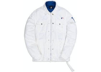 Kith For Major League Baseball Los Angeles Dodgers Laight Denim Jacket Whiteの写真