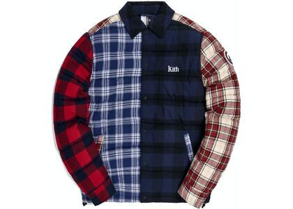 Kith Murray Quilted Shirt Jacket Plaid/Multiの写真
