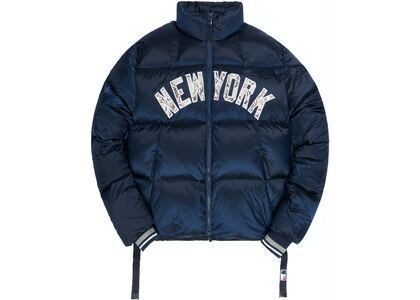 Kith For Major League Baseball New York Yankees Midi Puffer Jacket Navyの写真