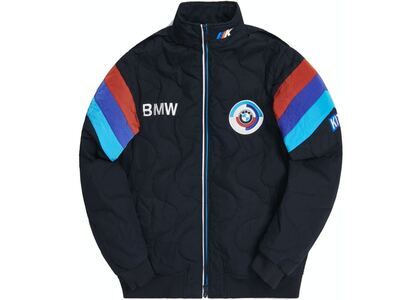Kith x BMW Quilted Racing Jacket Blackの写真