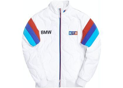 Kith x BMW Quilted Racing Jacket Off Whiteの写真