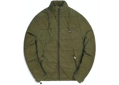 Kith Quilted Liner Jacket Oliveの写真