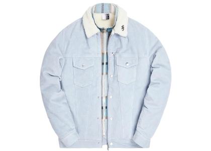 Kith Corduroy Laight Jacket Light Indigo Blueの写真