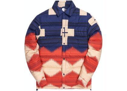 Kith for Pendleton Wyeth Trail Puffer Shirt Jacket Navy/Multiの写真