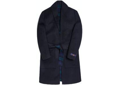 Kith Shawl Collar Becker Coat Blackの写真