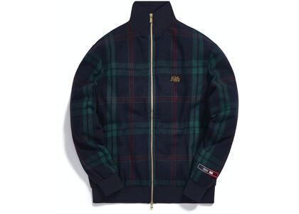 Kith for Bergdorf Goodman Lewis Track Jacket Navy/Green Plaidの写真
