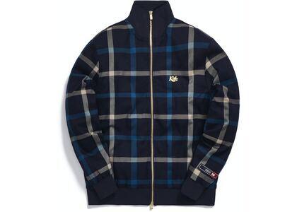 Kith for Bergdorf Goodman Roger Track Jacket Navy/Blue Plaidの写真