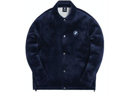 Kith x BMW Velour Coaches Jacket Navyの写真