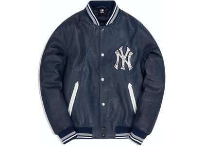 Kith For Major League Baseball New York Yankees Leather Bomber Navyの写真
