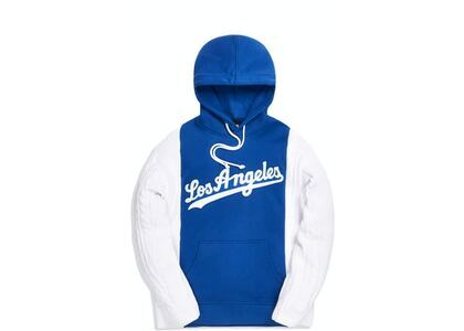 Kith For Major League Baseball Los Angeles Dodgers Combo Hoodie Royal Blueの写真