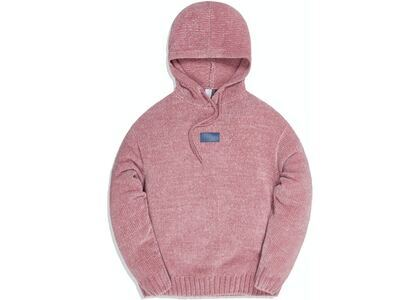 Kith Hayes Chenille Hoodie Pale Mauveの写真