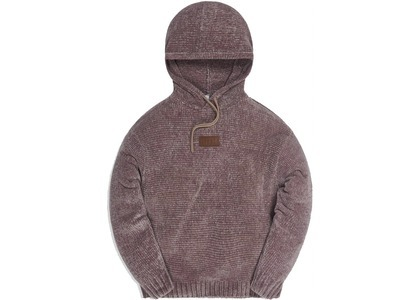 Kith Hayes Chenille Hoodie Driftwoodの写真