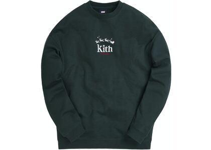 Kith Sleigh Serif Crewneck Scarabの写真