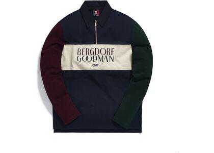 Kith for Bergdorf Goodman L/S Quarter Zip Navyの写真