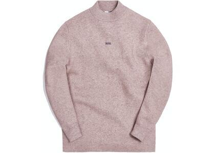 Kith L/S Mock Neck Heather Oatmealの写真