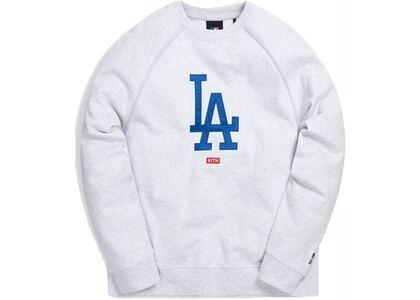 Kith For Major League Baseball Los Angeles Dodgers Crewneck Light Heather Greyの写真