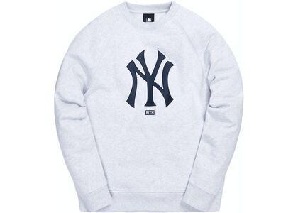 Kith For Major League Baseball New York Yankees Satin Crewneck Light Heather Greyの写真