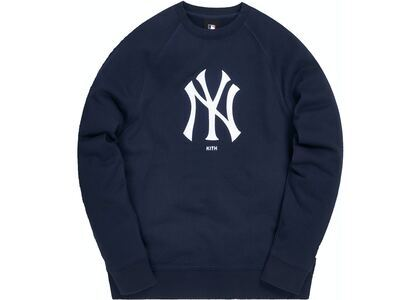 Kith For Major League Baseball New York Yankees Crewneck Navy/Whiteの写真