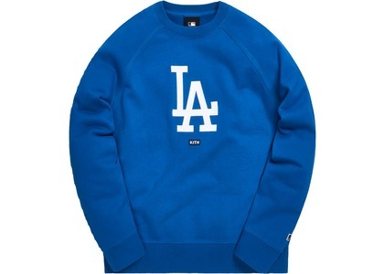 Kith For Major League Baseball Los Angeles Dodgers Crewneck Royalの写真
