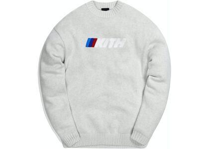 Kith x BMW Motorsport Sweater Light Greyの写真
