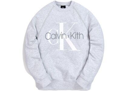 Kith for Calvin Klein Crewneck Light Heather Greyの写真