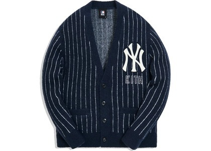 Kith For Major League Baseball New York Yankees Cardigan Navyの写真