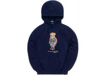 Kith x Polo Ralph Lauren Fleece Hoodie Navy Blueの写真