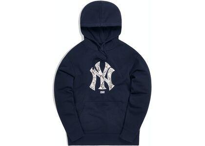 Kith For Major League Baseball New York Yankees Snake Logo Hoodie Navyの写真