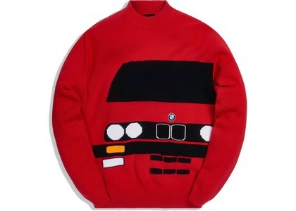Kith x BMW E30 Sweater Redの写真