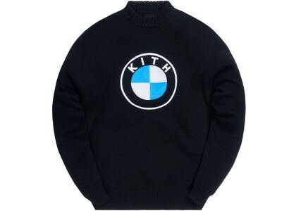 Kith x BMW Roundel Sweater Blackの写真