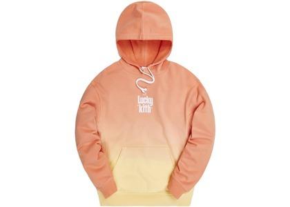 Kith for Lucky Charms Dip Dye Williams III Hoodie Orange/Yellowの写真