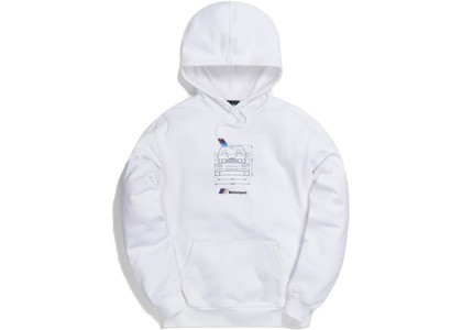 Kith x BMW Front Dimensions Hoodie Whiteの写真