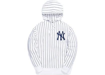Kith For Major League Baseball New York Yankees Striped Hoodie Whiteの写真