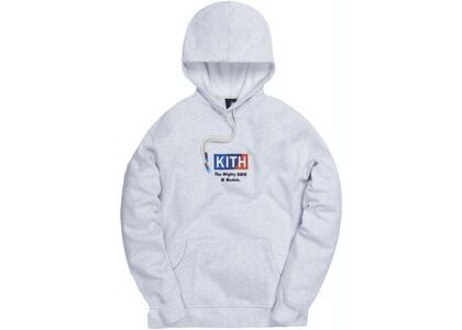 Kith x BMW M Sport Logo Hoodie Heather Grey