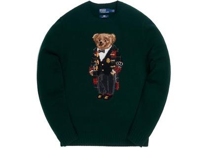 Kith x Polo Ralph Lauren Holiday Toggle Coat Bear Crewneck Greenの写真