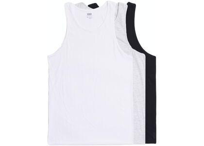 Kith Tank 3-Pack White/Light Heather Grey/Blackの写真