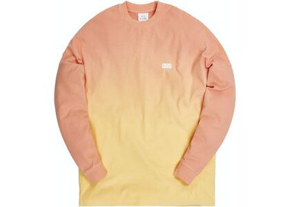 Kith for Lucky Charms Dip Dye L/S Tee Orange/Yellowの写真