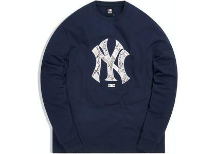 Kith For Major League Baseball New York Yankees Snake Logo L/S Tee Navyの写真