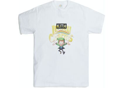 Kith for Lucky Charms Vintage Tee Whiteの写真