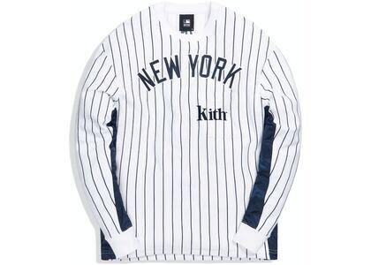 Kith For Major League Baseball New York Yankees L/S Combo Quinn White Pinstripeの写真