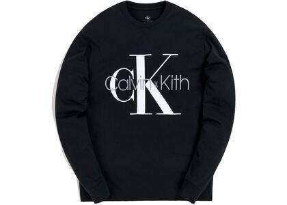 Kith for Calvin Klein L/S Tee Blackの写真