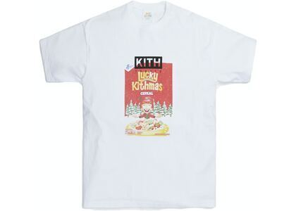 Kith for Lucky Charms Kithmas Cereal Box Vintage Tee Whiteの写真