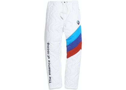 Kith x BMW Quilted Racing Pants Off Whiteの写真