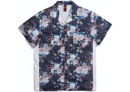 Kith Floral Panel Camp Shirt Navy/Multi の写真