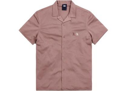 Kith Camp Collar Double Mesh Shirt Antler の写真